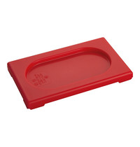 CaterChef Deksel rood | 1/9 GN | 176x108mm
