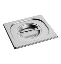 EMGA Gastronorm deksel RVS | 1/6 GN  | 176x162mm
