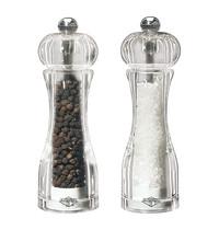 EMGA Peper & zoutmolen acryl 14(h)cm