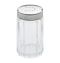 EMGA Zoutstrooier RVS/Glas 7(h)cm