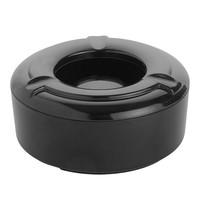 EMGA Terras asbak zwart melamine  Ø10cm