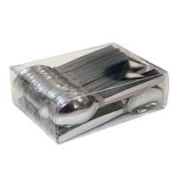 ProSup Theelepel RVS in kunststof box 120 stuks 11(l)cm