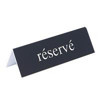 EMGA Tafelbordje reserve kunststof 2 zijdig 13x4(h)cm