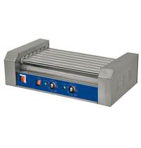 Ristormarkt Hotdog verwarmer 7 rollers | 1,4kW | 585x345x170(h)mm