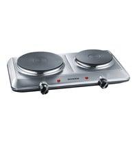 SEVERIN Kooktoestel elektrisch 2 branders | 4 standen | 2.5kW | 330x490x90(h)mm