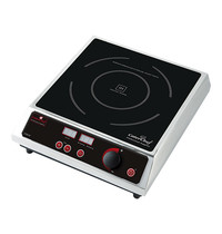CaterChef kooktoestel inductie   2.7kW   verhittings-oppervlakte Ø22,5cm   380x220x103(h)mm