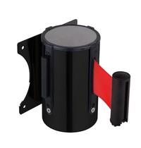Combisteel Afzetkoord staal wandmodel zwart | Ø63(b)mm