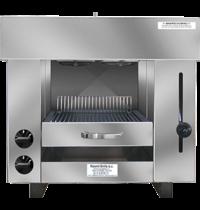 Naomi Pita-Oven met waterverdampingssysteem | 5,40kW/h | 2 infrarood gasbranders | 650x430x600(h)mm