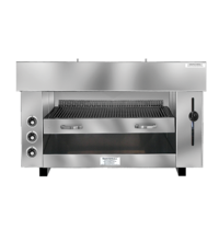 Naomi Pita-Oven Elektrisch met waterverdampingssysteem | 400V |  3 elektrische elementen | 960x430x600(h)mm