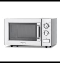 Panasonic Panasonic RVS semi magnetronoven 22 liter | 1kW /h|  Met draaiknop | 230V  | 510x360x306(h)mm