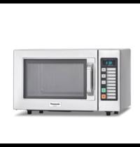 Panasonic Panasonic RVS semi magnetronoven 22 liter | 1kW/h | tip toets met 20 vrije geheugenprogramma's | 510x360x306(h)mm