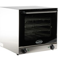 Combisteel Convectieoven CUBE EC-1 | 230V | kW/h 2,67 | 4 draad roosters | 595x530x570(h)mm