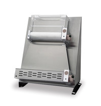 GMG GMG Deegroller-Pizzaroller 40cm recht   Roestvrijstaal   0,37kW   520x540x740(h)mm