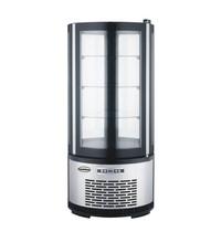 Combisteel Koelvitrine | 100 liter | 230V | Geforceerd | Met digitale temperatuur controller | 480x480x1030(h)mm