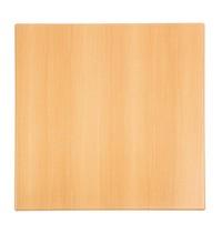 Bolero Tafelblad vierkant beuken voorgeboord | 600x600x30(h)mm