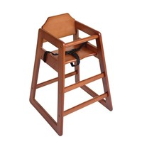 Bolero Kinderstoel donkerbruin | Zithoogte 50cm | 510x510x750(h)mm