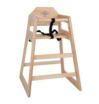 Bolero Kinderstoel naturel | Zithoogte 50cm | 510x510x750(h)mm