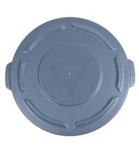 Rubbermaid Polyethyleen deksel grijs voor 75L container   4,6(h) x 50,5(Ø)cm