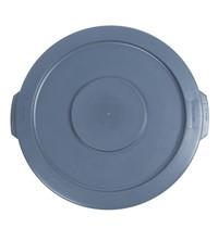 RUBBERMAID Deksel polyethyleen voor 37L container    2,5(h) x 40,6(Ø)cm