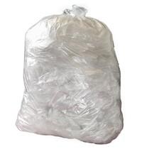 Jantex Grote standaard kwaliteit vuilniszakken transparant | 200 stuks / 90L | 457(DB)x73,7(OB)x96,5(L)cm