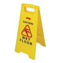Jantex Waarschuwingsbord kunststof ''Wet floor '' | 64(h)cm