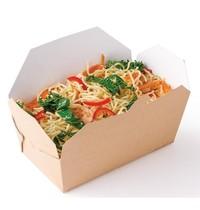 Colpac Rechthoekige voedseldoosjes | 250 stuks | 185x103x58(h)mm