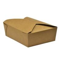 Vegware Composteerbaar voedseldoosje 1,3L   500 stuks