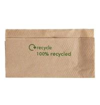 Gastronoble Composteerbare servetten van kraftpapier | 6000 stuks | 1 laags  | 30x32cm