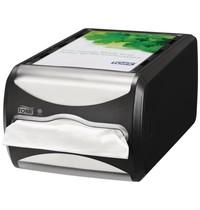 Tork Xpressnap Counter servetten dispenser | Doseert vel voor vel | 191x307x145(h)mm