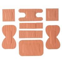 Gastronoble Stoffen pleisters assorti | 100 stuks | 6 verschillende pleisters per verpakking