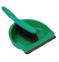 Jantex Zachte handveger en blik groen | Aan elkaar vast te klikken | 260x340x250(h)mm