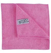 Jantex Microvezeldoeken roze | 5 stuks | 90% polyester en 10% polyamide | 40x40cm