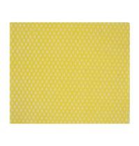 Jantex Solonet afneemdoekjes geel | 50 stuks | 50% polyester en 50% viscose | 580x330x45(h)mm