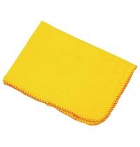 Jantex Stofdoeken geel | 10 stuks | 100% katoen | 50,8(b)x40,6(d)cm