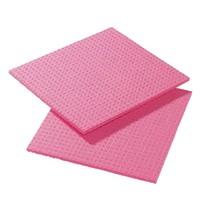 Gastronoble Sponsdoekje rood   10 stuks   Cellulose/Polyester   20,6x18,5cm