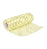 Jantex Niet geweven doekjes geel | 100 stuks | 43,23cm