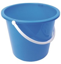 Jantex Kunststof emmer blauw | 10L | 280x295x260(h)mm