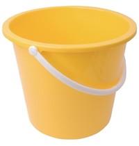 Jantex Kunststof emmer geel | 10L | 280x295x260(h)mm