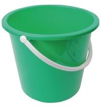 Jantex Kunststof emmer groen | 10L | 280x295x260(h)mm