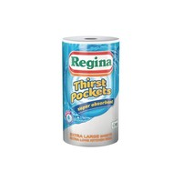 Regina Thirst Pocket keukenrollen | 6 stuks | 2 laags | 100 vellen per rol
