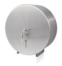 Jantex Jumbo RVS toiletpapier dispenser | 260x125x268(h)mm