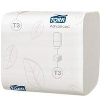 Tork Tissue navulling wit | 30 stuks | 2 laags | Ca. 250 vellen per rol
