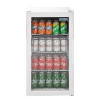 Polar C serie tafelmodel display koeling | 88L |Ruimte voor 330ml blikjes  | 85W | Met 1 glas deur | 230V | 430x480x825(h)mm