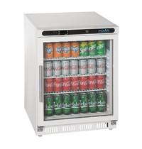Polar C-serie tafelmodel display koeling 150L   150W   Met 1 glad deur   230V   600x600x850(h)mm