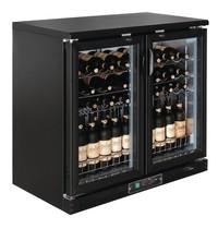 Polar G-serie horizontale wijnkoeling 56 flessen | 254L | Met 2 klapdeuren | 230V | 920x535x920(h)mm