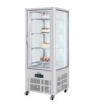 Polar G-serie gebakvitrine 400L | 280W | Met glas deur | 230V | 706x706x1800(h)mm