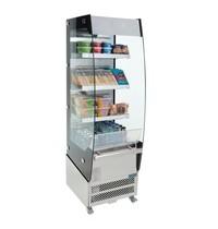 Polar C-serie multideck display kast | 220L | Verwijderbare schuifdeur aan achterzijde |   1,3kW |  494x674x1742(h)mm