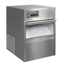 Polar G-serie RVS ijsblokjesmachine | 20kg output | Met ijsschep | 200W | 230V | 380x477x590(h)mm