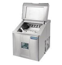 Polar C-serie tafelmodel ijsblokjesmachine   17kg output   Geen waterafvoer nodig   230V   365x420x415(h)mm