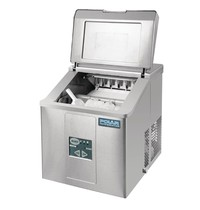 Polar C-serie tafelmodel ijsblokjesmachine | 17kg output | Geen waterafvoer nodig | 230V | 365x420x415(h)mm